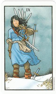 Today's Card - Connolly Tarot By Scamphill 9ofSwordsConnollyTarot_0010