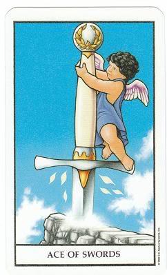 Today's Card - Connolly Tarot By Scamphill AceofSwordsConnollyTarot_0005