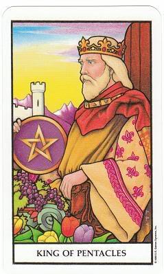 Today's Card - Connolly Tarot By Scamphill KingofPentaclesConnollyTarot_0005