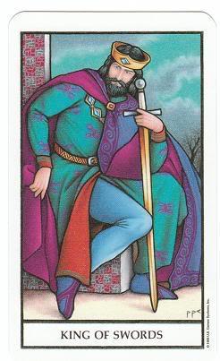 Today's Card - Connolly Tarot By Scamphill KingofSwordsConnollyTarot_0005