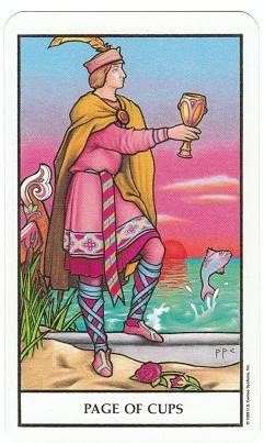Today's Card - Connolly Tarot By Scamphill - Page 2 PageofCupsConnollyTarot_0005