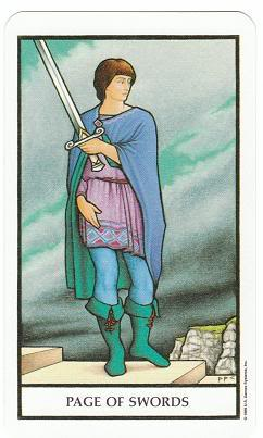 Today's Card - Connolly Tarot By Scamphill PageofSwordsConnollyTarot_0005