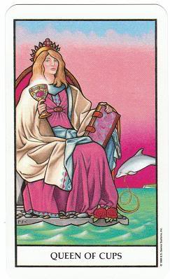 Today's Card - Connolly Tarot By Scamphill - Page 2 QueenofCupsConnollyTarot_0005