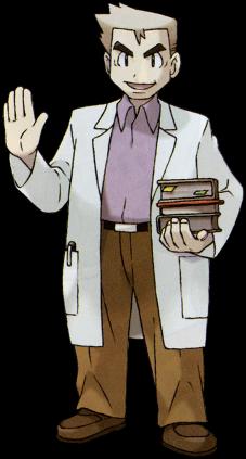 Laboratório de Kanto Professor_Oak_GenIII_Sugimori