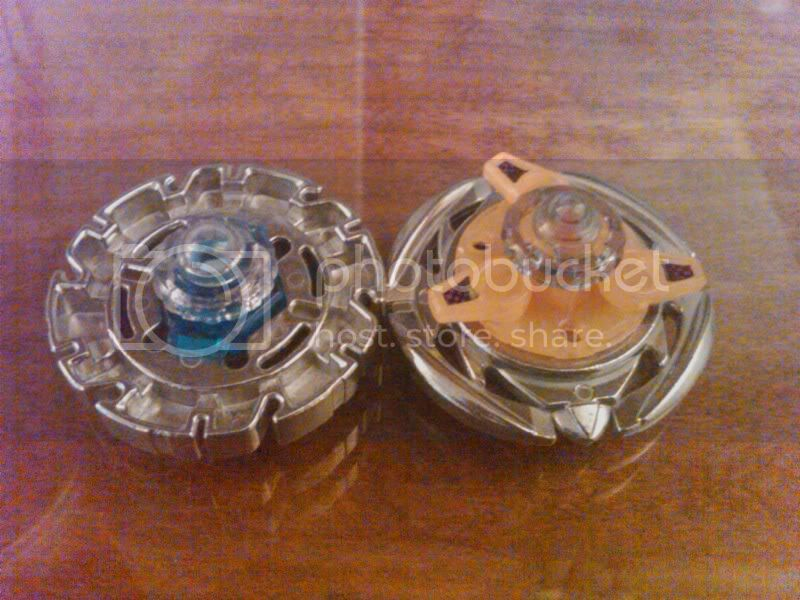SaMaster14's Metal Fight Beyblade collection C145back