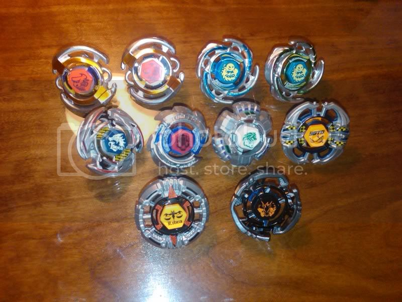 SaMaster14's Metal Fight Beyblade collection Mfbcollection