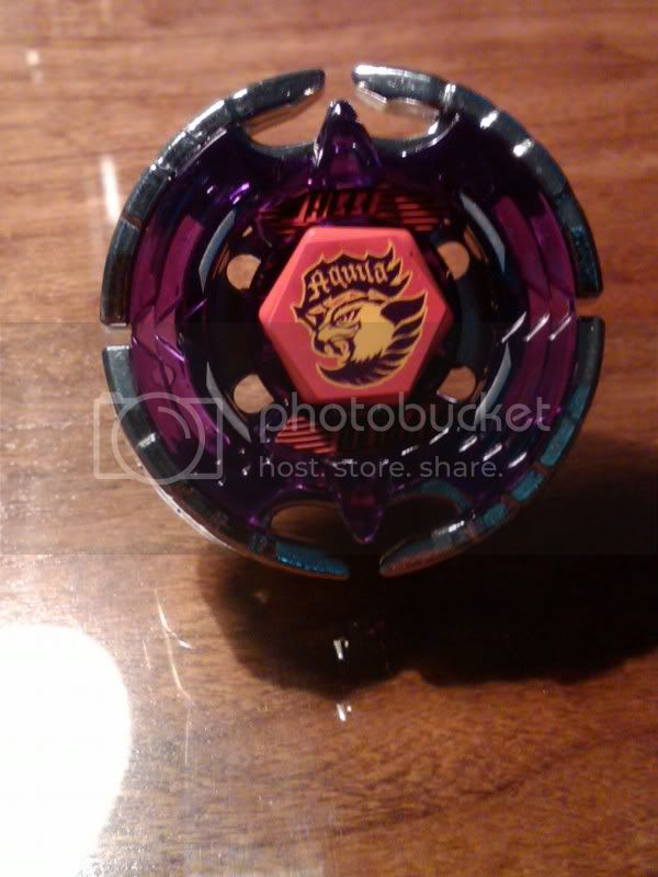 SaMaster14's Metal Fight Beyblade collection Mfbeaquila