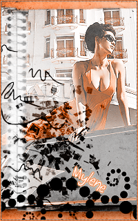 .:C:.'s gallery - Page 2 1Mylene-orange
