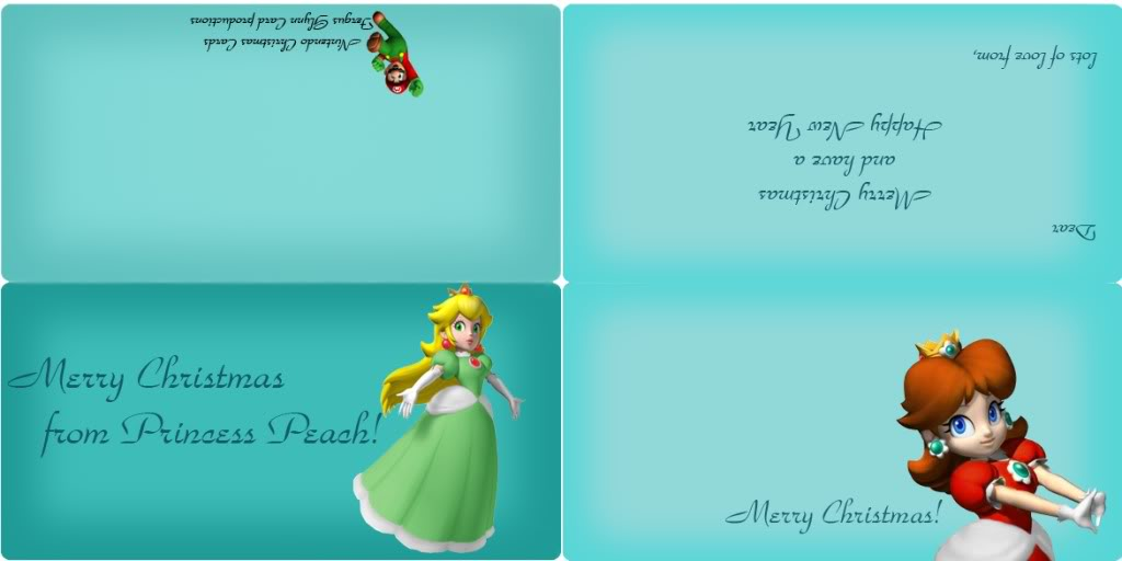 Nintendorks Graphics Contest: Christmas [Results Announced!] - Page 2 PrincessPeachandDaisyCard-Horizonta