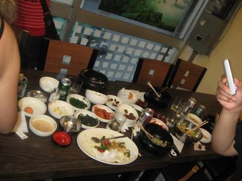 Diferentes comidas tipicas coreanas!! Comida