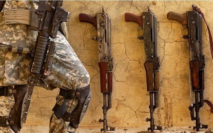 Enséñanos tu fusil! Ak