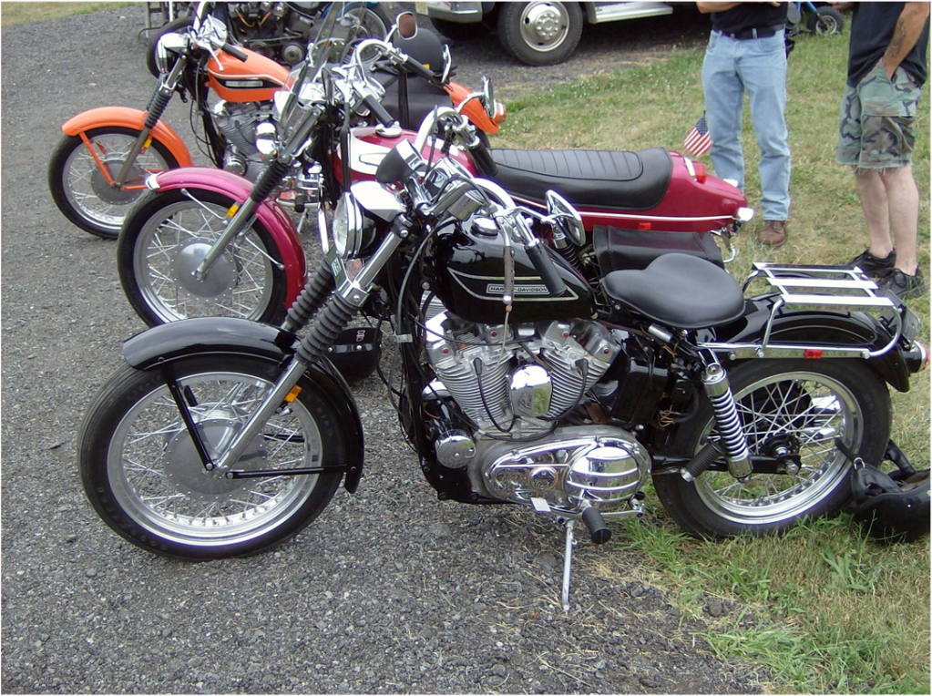 The Ironheads of the 50's 60's and 70's IronheadSportsters