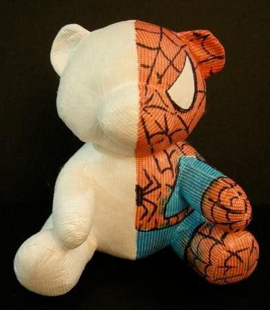 Spiderman bear, Blankz Bare
