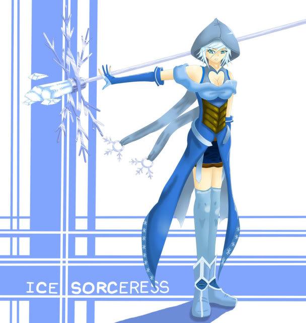Armitael Gaiden: LM Edition Ice_Sorceress___FEZ_Contest_by_ZantetsumarU