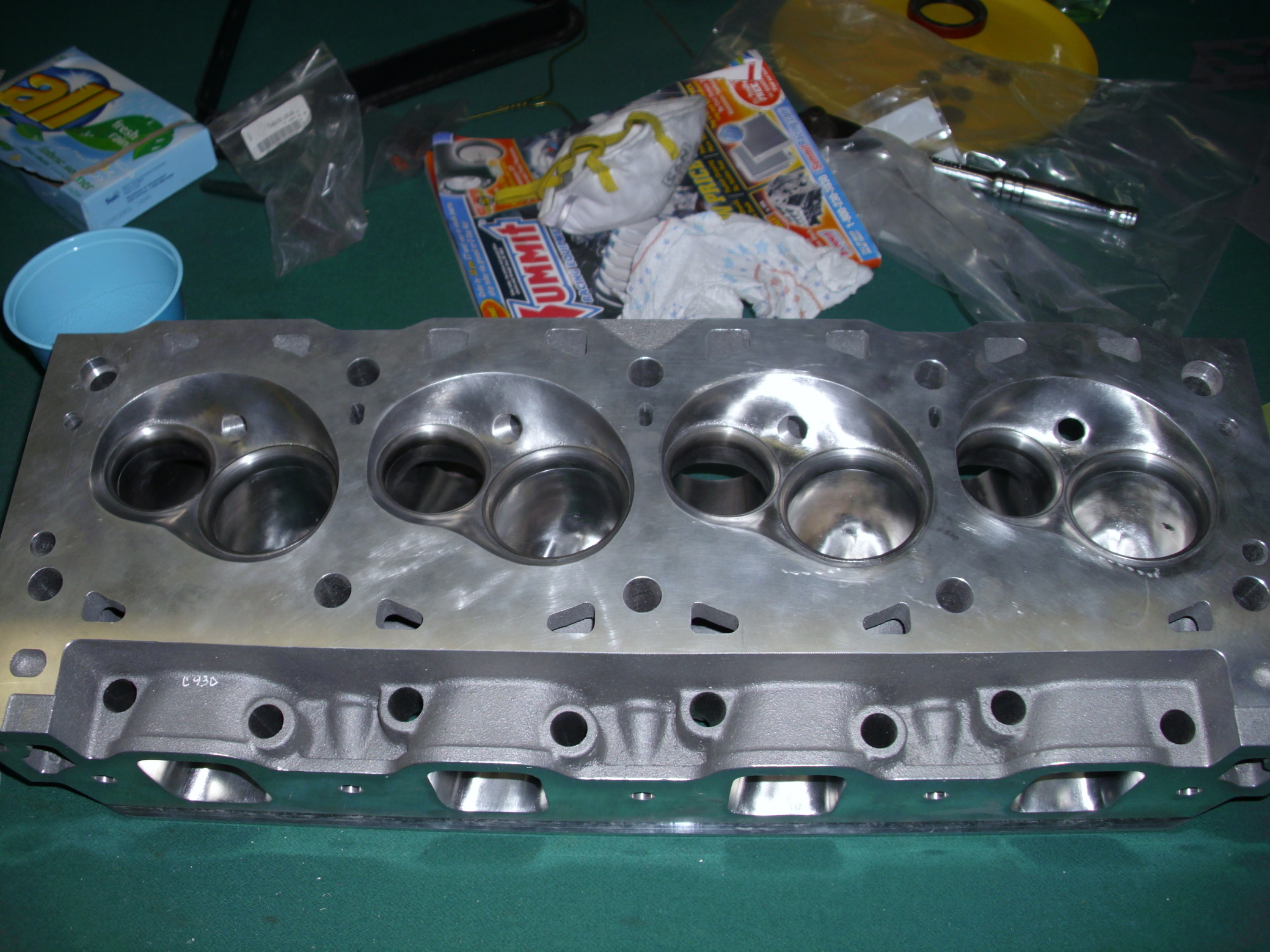 580ci a460 head & a 460 block 0001183