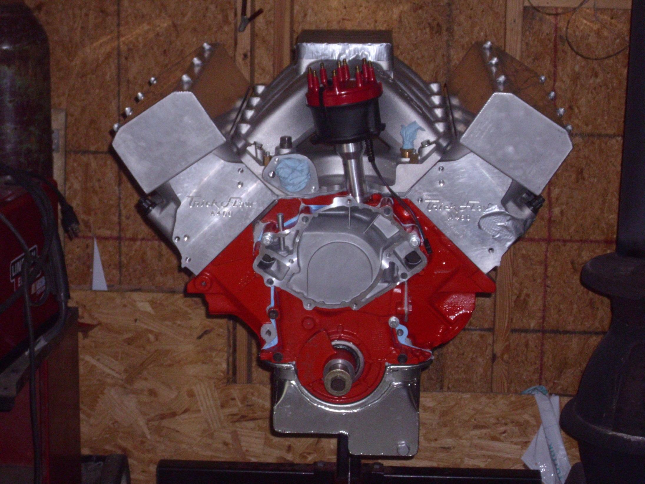 580ci a460 head & a 460 block HPIM0375