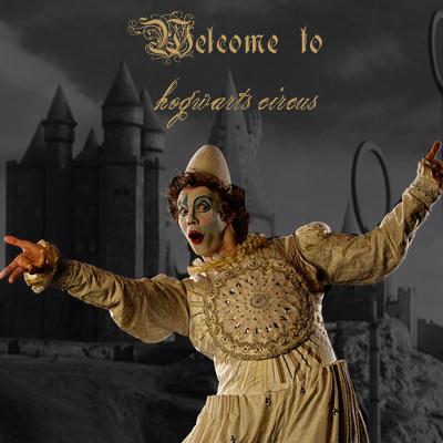 Circus Performer Badge Clownposter