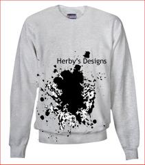 Designer Badge Graphicsweater