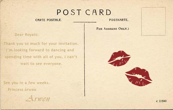 Royal Badge Postcard