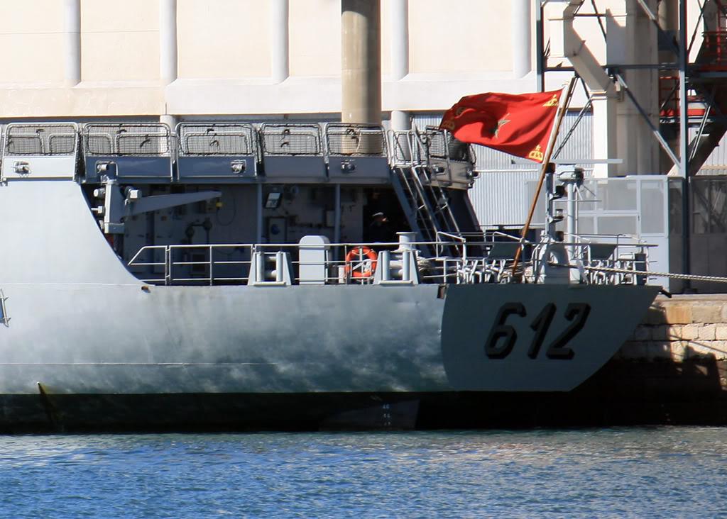 Royal Moroccan Navy Floréal Frigates / Frégates Floréal Marocaines 612HASSANII200809061129CADIZ