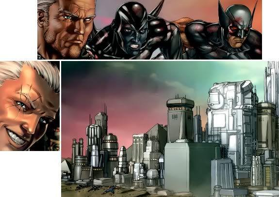 X-Men Extra Nº101 (Maio/2010) Guerramessianicacable_06