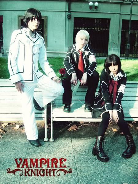 Cosplay Vampire Knight Group7