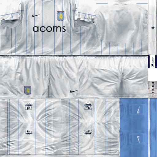 Aston Villa 08-09 AstonVillaV2_Tercera