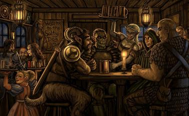 Reunion in Marrowbrook (Phoenix City Chronicles) Tavern