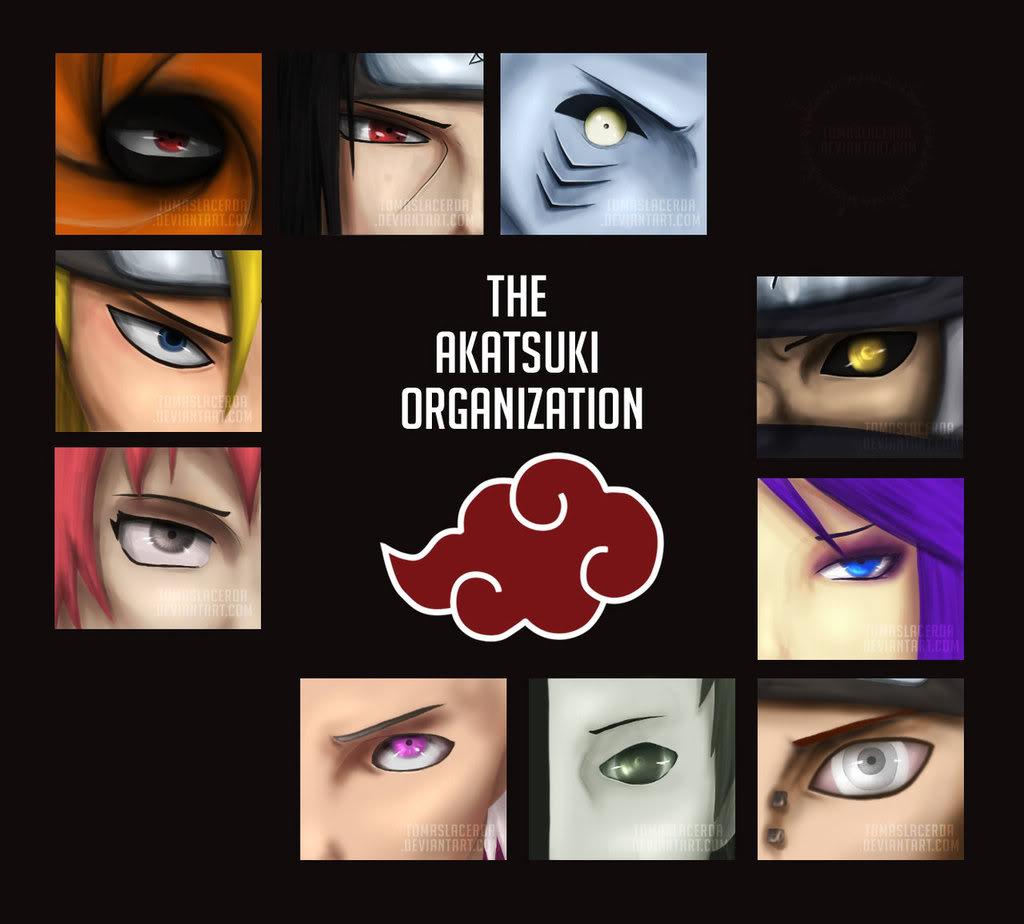 [Album] Akatsuki The_Akatsuki_Organization_by_TomasL