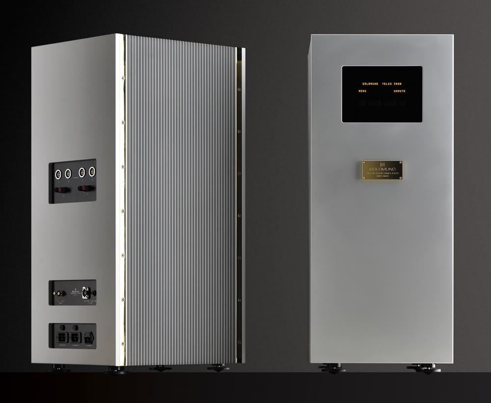 Goldmund Telos 5000, ¿la etapa más bestia jamás construida? Telos5000