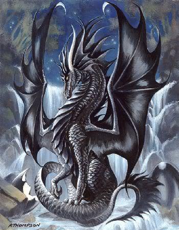 Drachen-Wölfe RPG Blackdragon