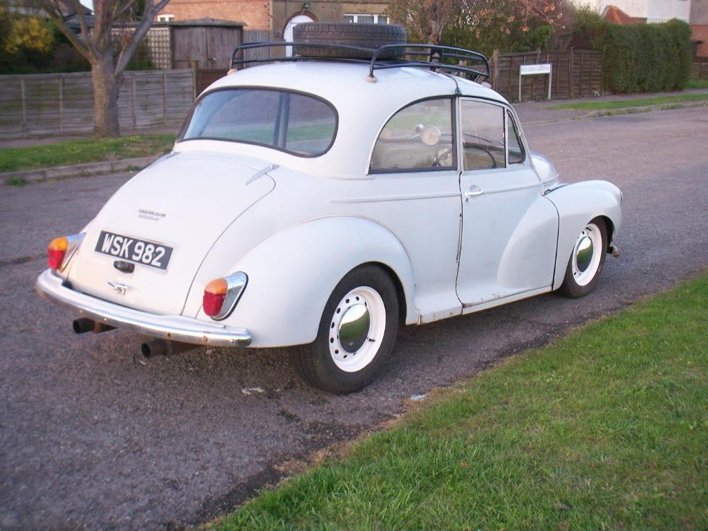 Classic car roofrack Morris008