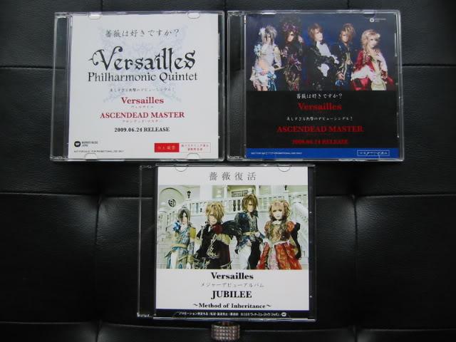 CDs & DVDs PROMO Versailles-philharmonic-quintet_promo-cd_1