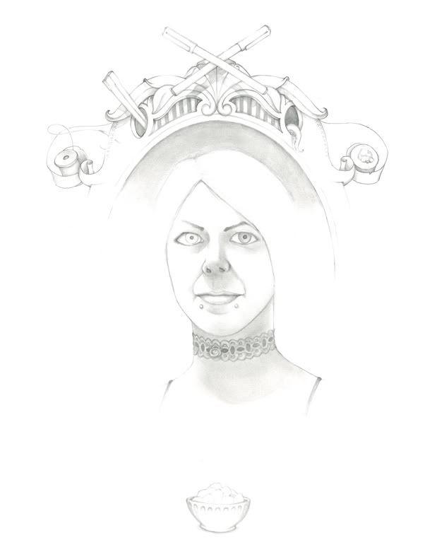 dessins, estampes, peintures... Kathia
