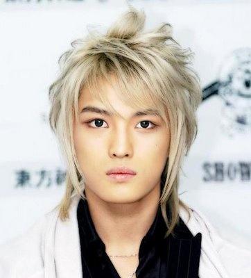 Ídolos del kpop con cabello rubio Jae2