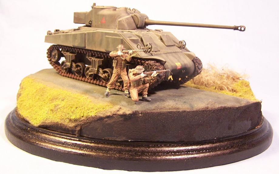 Sherman Firefly Hollande 1944 Fireflyfini8