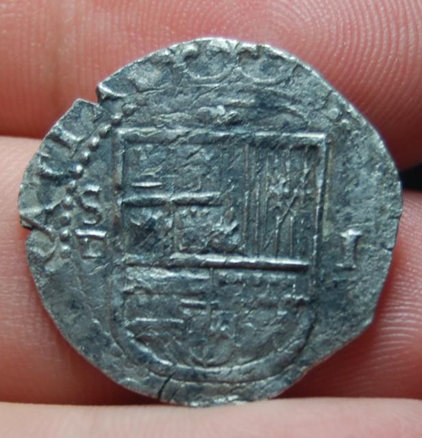 1 real. Felipe II. Sevilla  Capturaerty