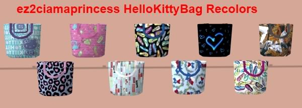 Colour Sims - Page 6 HelloKittyBag