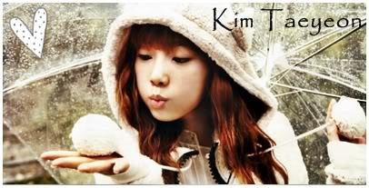 Ninfa Taeyeon ha llegado [actu] KimTaeYeon