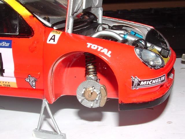 Citroen Xsara WRC 2001 1/24 Airfix DSCF0746