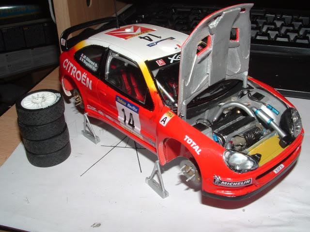 Citroen Xsara WRC 2001 1/24 Airfix DSCF0747