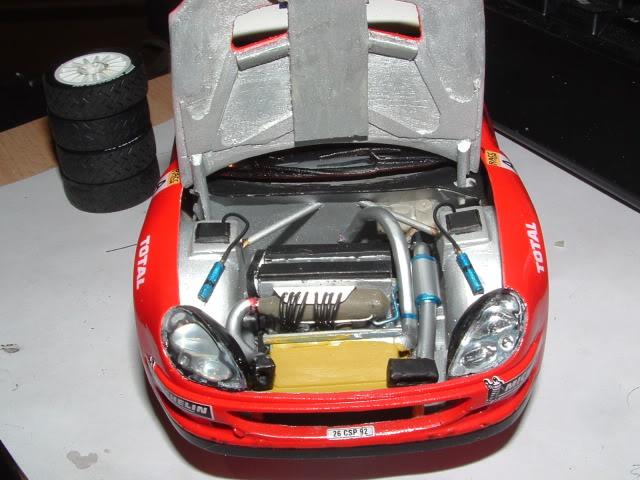 Citroen Xsara WRC 2001 1/24 Airfix DSCF0750