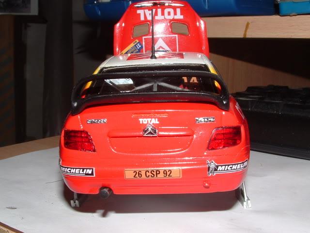 Citroen Xsara WRC 2001 1/24 Airfix DSCF0752