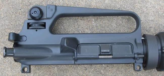 Guía rápida para distinguir los Colt correctos en Vietnam M16A2receiver