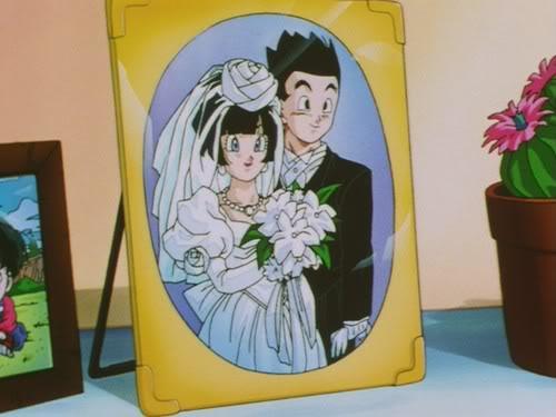 La mejor pareja ! Gohan_and_Videl_married