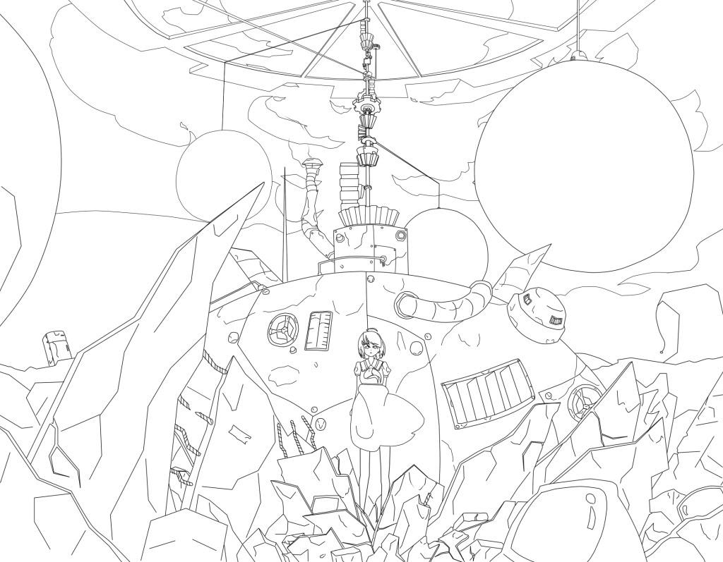 """ミライFronteir [Hilo oficial]Primera informacion del proyecto """"Endelss spiral"""" (Jin) - Página 2 Conceptart1"""