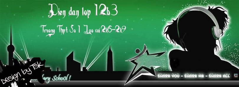 ♥(¯°¤Diễn đàn lớp 12b3 «¤°¯)♥