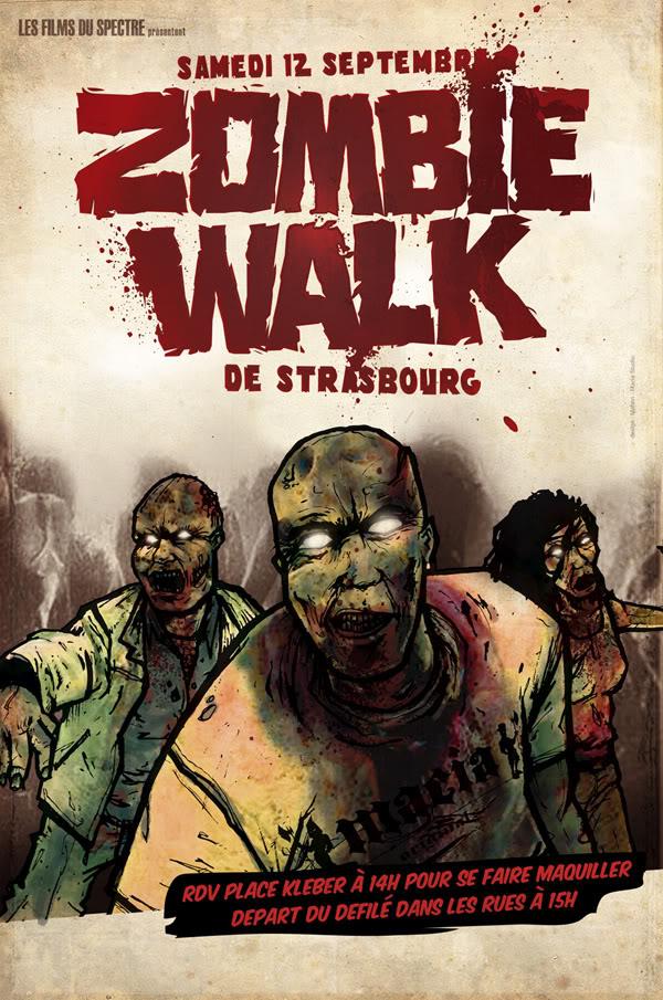 FESTIVAL FILM FANTASTIQUE + EXPO ALIEN à STRASBOURG Affiche_zombie1