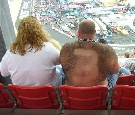 What do you do on Cunard? Hairy-nascar-fan