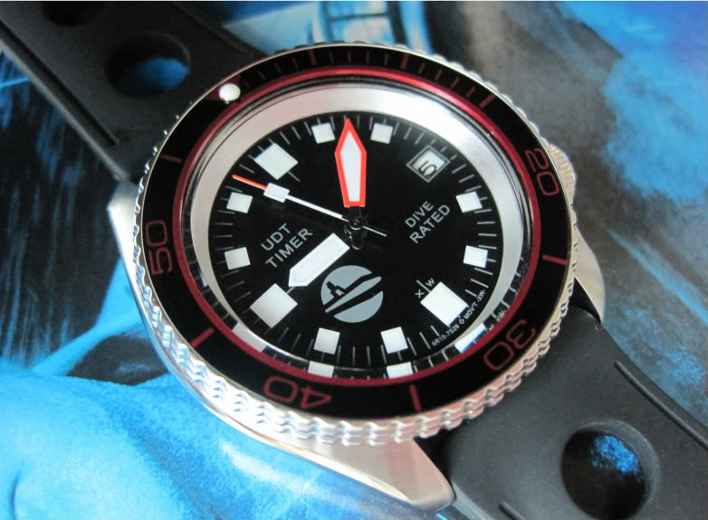 "SOLD!!!! SEIKO SKX007 one-of-a-kind custom  ""SUB-UDT"" diver....$275 shipped  HANDS937"